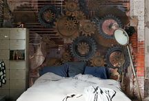 +Steampunk Interior