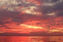 obloha a voda