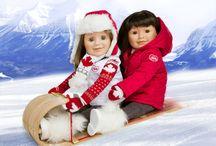 Maplea dolls  / Canadian dolls for Canadian girls