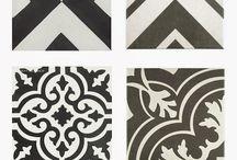 Tiles / Csempék: mozaik, cement...bármi jöhet