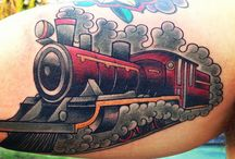 TRAIN TATTOO