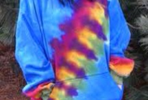 Tie dye and Rainbows