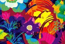 Impresiones / Dibujos, colores y texturas