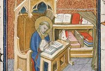 Icons and medieval miniatures