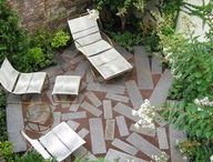 Small Space, Cozy & Romantic Gardens / Even if you live in a home with minimal space, you can create a garden design that offers a big impact! Think: cozy, intimate, romantic, charming and light.