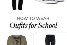 How To Wear Oufits for School
