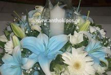 Λουλούδια Γάμου για τον Εσωτερικό Στολισμό Εκκλησίας