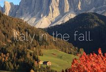 Italy in the fall