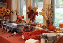 Fall Inspiration / Thanksgiving is almost upon us.  Get your home ready with these fall decor ideas.