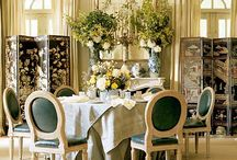 DINNING ROOM AREAS / Modern, classic, traditional, but always special ambiances... www.kosasdekasa.com  / by Louise GG