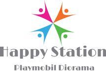 Happy station / Happy station- het playmobil dorp in het station van Breda.  Deze stad is te bewonderen in het station van Breda.  De toegang is GRATIS, maar je mag een donatie achter laten!  In december dagelijks open van 11.00 tot 20.00