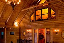 Log Home Entryways / How do you dream of welcoming guests in to your Log Home?