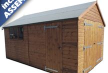 Garages / Garages and Workshops. Great for storage, hobbies,  and even parking your car!