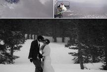 wedding snowboard