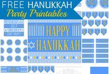 Hannukah Decor Ideas / Hannukah party decorations for little ones