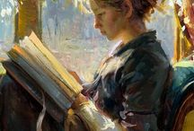 reading portrait