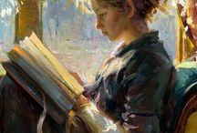 reading portrait