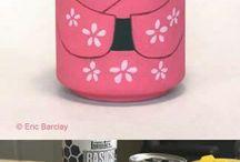 decoración para tu cuarto / con cosas recicladas