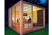 Garden House - Summer House - Eco Out-house / Eco design - buildings made with pallets - garden house made with pallets