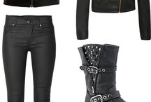 biker girl outfits