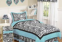 Animal Print Bedroom / Animal print bedding sets range from zebra and cheetah print to leopard and giraffe print for girls plus matching bedroom decor. / by Kids Room Treasures