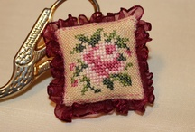 Cross stitching, embroidery
