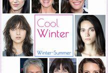 Cores | Inverno Puro / Look com cores da cartela inverno Puro