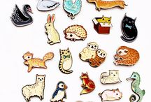 Colorfull pins