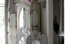 old mirrors - mirroirs antiques, or so they will become / the other point of view - Mirrors, mirroirs, Spiegel und Spiegleins