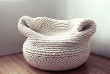 Knit-spiration (and crochet) / No patterns, just pictures