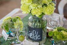 Wedding decor Country / County wedding decor ideas.
