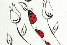 рисунки по ткани