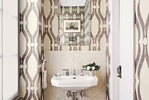 Powerful Powder Rooms