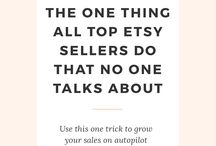 Etsy Tips / The best Etsy tips and tricks from experiences sellers to turn your handmade shop into your own creative business.