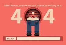 404 / Goede, mooie of gewoon grappige voorbeelden van een 404 error page.
