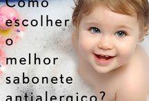 Sabonete Antialergico e o Banho - Mar&Mel Cosméticos / Quer saber mais sobre sabonetes antialergicos e como escolher o melhor para seu filho?  http://bit.ly/saboneteantialergico
