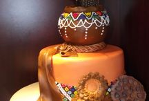 Wedding cakes AFRICAN TRADITIONAL