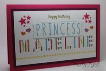 Stampin' Up! - Little Letter Thinlits