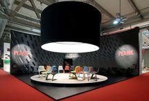 Plank - Salone del Mobile / Act Events Allestimenti fieristici Exhibition stand display Our work at Salone del Mobile