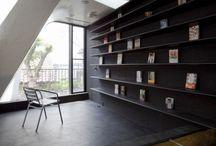 Ideen Regale / Wie was wo mit Büchern