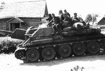 SU-122 medium self-propelled gun  / Średnie działo samobieżne SU-122