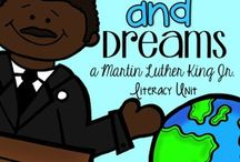 Martin Luther King Jr.  / by McKenzie Maee