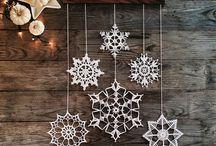 gwiazdki,  bombki,  Boże Narodzenie