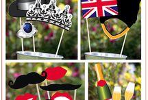 British Party Theme Ideas
