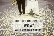 Your Wedding Planning Guide / A few tips to help you plan your upcoming event!