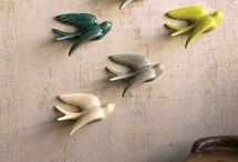 Andorinhas sardinhas e galo