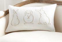 Rabbit pillows