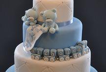 Baptism cake's