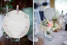 Papelería para bodas bonitas