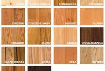 essenze legno